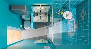 Plan Petite Salle D Eau : d cryptage d 39 une salle d 39 eau avec toilettes i styles de bain ~ Dallasstarsshop.com Idées de Décoration