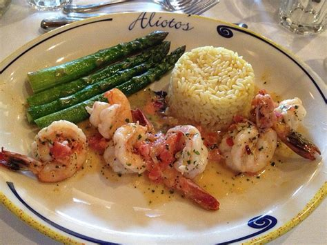 ca cuisine alioto 39 s sautéed prawns food shrimp sanfrancisco california fishermanswharf seafood