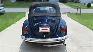 Sell Used 1972 Volkswagen Super Beetle Convertible Vw Bug