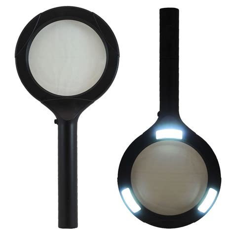 lighted magnifying l 5x promier lighted magnifying glass 5x magnification