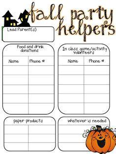 sign up sheets for preschool festival 779 | Halloween Sign Up Sheet Preschool Party (03)