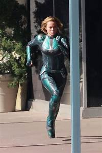 "Brie Larson - ""Captain Marvel"" Set in Los Angeles 04/26/2018"