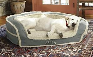 large dog bed oversized horseshoe bolster dog bed with With giant dog bed
