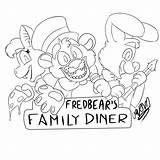 Fredbears sketch template