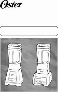 Oster Blender Designer Series Push Button Blenders User