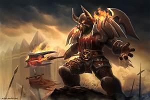 Orc Warrior - Berhyn by artlon on DeviantArt
