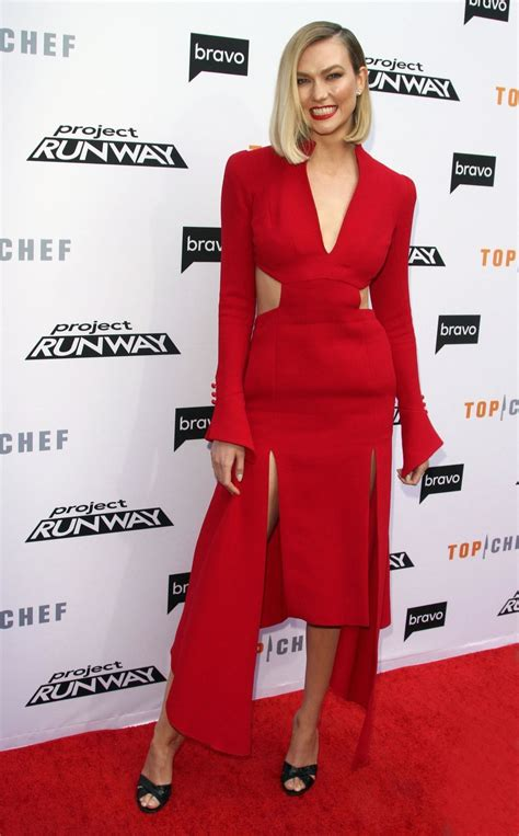 Karlie Kloss Bravo Top Chef Project Runway Event