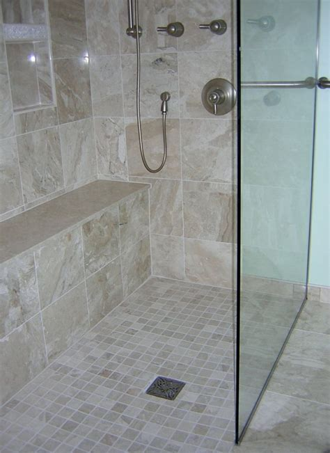 master bathrooms designs curbless shower our bathroom remodels