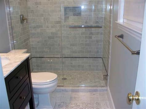 bloombety small bath ideas with wall tile grey simple