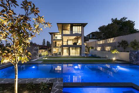 stunning contemporary resort style mansion  perth