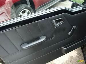1997 Geo Tracker Soft Top 4x4 Dark Charcoal Door Panel