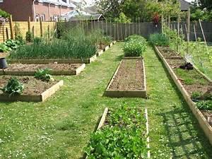 Raised Bed Vegetable Garden Layout Garden Landscap raised ...