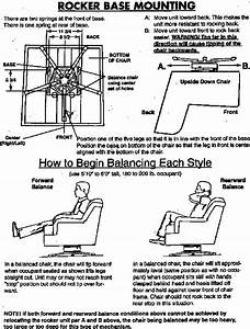 How To Install A Rocker Swivel On An Upholstered Chair