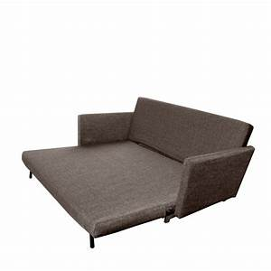Canape convertible 3 places design tissu george by drawer for Tapis shaggy avec canapé convertible très confortable
