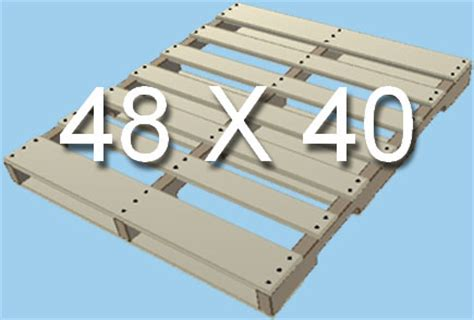 standard pallet sizes dimensions pallet size reference