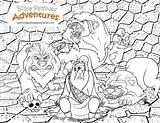 Lions Daniel Coloring Bible Lion Lesson Activities Activity Babylon Puzzles Study Cartoon Printables Worksheets Thrown Biblepathwayadventures sketch template