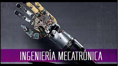 Resultado de imagen de ingenieria mecatronica