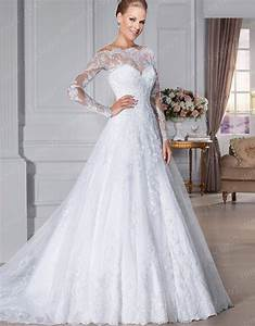 custom made vestido de noivas a line lace wedding dresses With custom made wedding dresses online