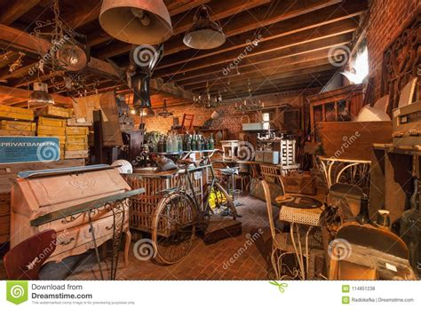 vintage home decor stores attic of antique with many vintage utensil 8834