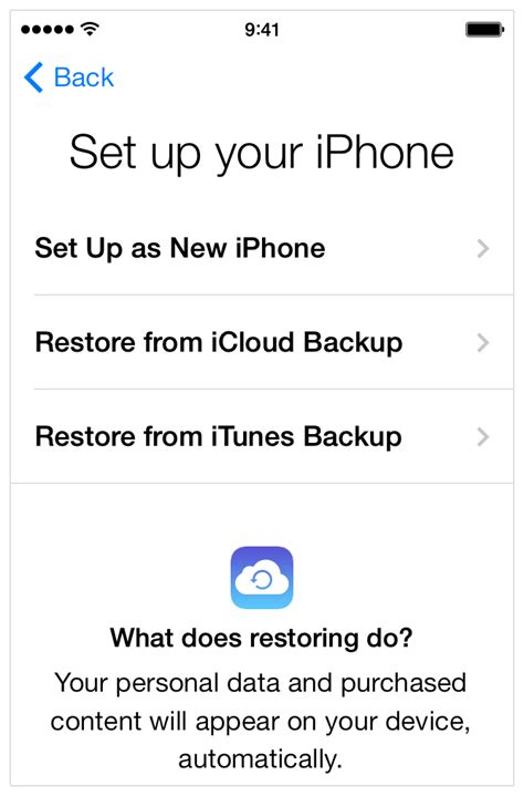 how to get your contacts back on iphone how to set up your new iphone the right way gizmodo
