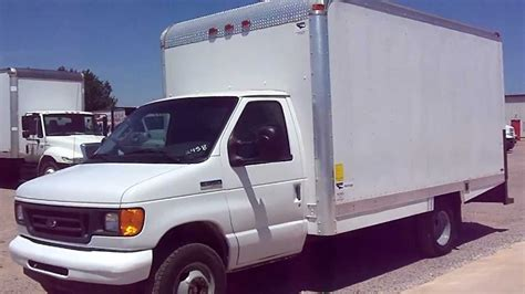 Stock #2458   2007 FORD E350 Box Truck For Sale   YouTube