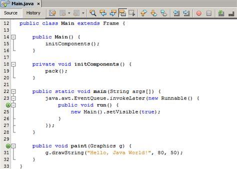 netbeans java  cdc development quick start guide