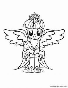 My Little Pony U2019 Princess Twilight Sparkle 01 Coloring