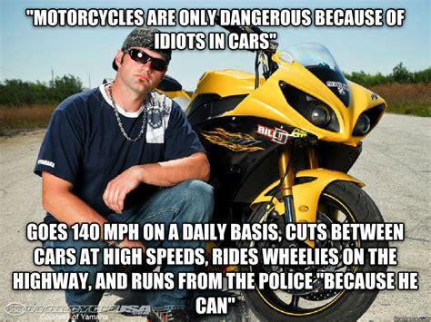 Scumbag Sportbike Rider