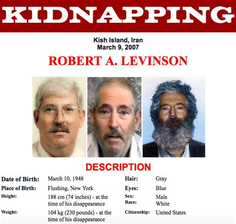 FBI Agent Robert Levinson