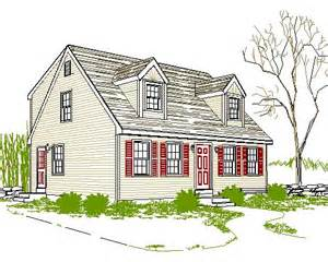 cape code house plans cape cod house plan a light in the attic