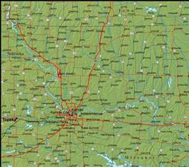 Detailed Missouri State Map