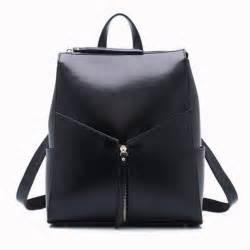 rucksack designer black leather backpack fashion office bag work bags stylish backpacks for