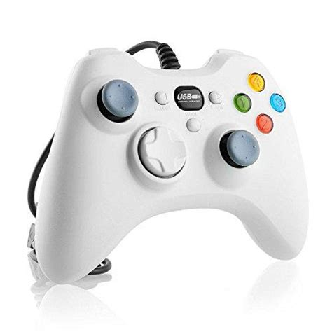 Gamestop Xbox 360 Console by Wired Gamestop Controller For Xbox 360 White
