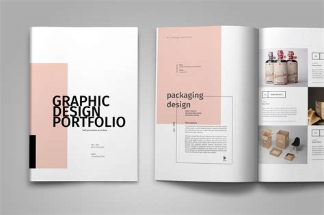 templates de portefolios graphic design portfolio template