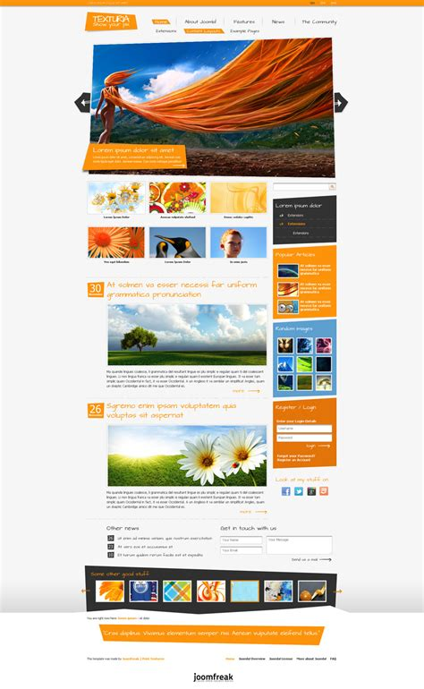 make a joomla template in 5 easy steps free property template joomla 1 5 free software and