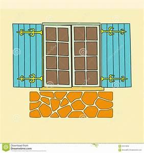 Vintage Window. Vector Vector Illustration | CartoonDealer ...