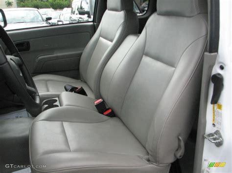 medium pewter interior  chevrolet colorado extended cab  photo  gtcarlotcom