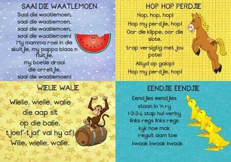 pin by judith vermeulen on quotes ouerskap afrikaans language afrikaans rhymes songs