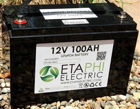 ah lithium battery etaphi electric