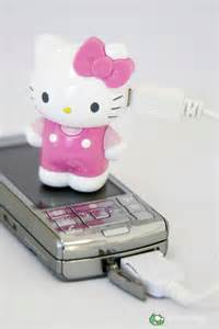 Hello Kitty Phone Charger