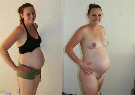 625 Nudes ☆ • Dressed / Undressed Pregnant (Schwanger) Nice!