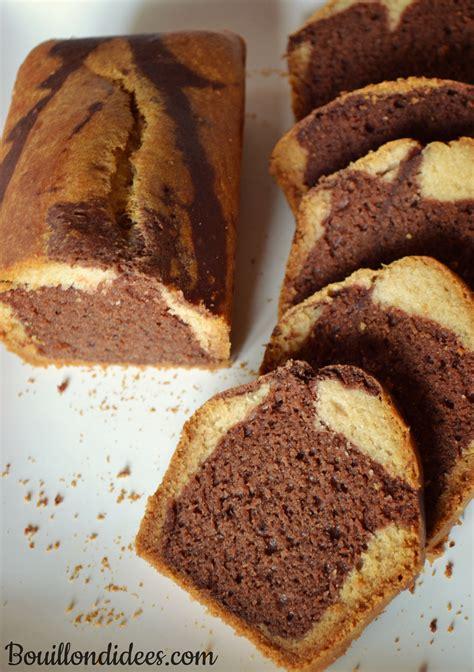 cuisiner sans lait gâteau marbré sans glo sans gluten lait ni oeuf