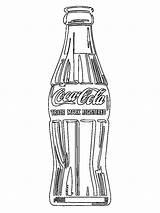 Coca Cola Flesje Colorear Botella Kleurplaat Kleurplaten Drinken Eten Leukekleurplaten Butelka Coli Drinks Coloring Kolorowanka Ladnekolorowanki Kleur Bebida Colorea Coloracion sketch template