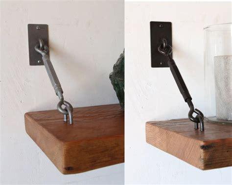Bookcase Shelf Hardware by Set Of 2 Turnbuckle Shelf Brackets For Floating Shelves