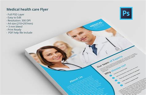 Healthcare Brochure Templates by Health Care Flyer Flyer Templates On Creative Market