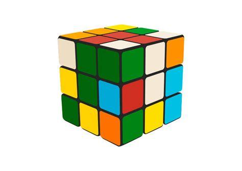 Rubik's Cube Free Vector