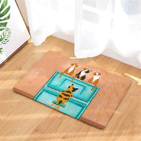 Waterproof Door Mat by Monily Anti Slip Waterproof Door Mat Cat