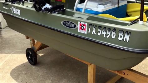 2 Person Fishing Boat by Pelican Bass 8e Two Person Fishing Boat