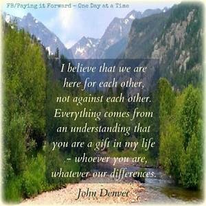 17 Best images ... John Denver Earth Quotes