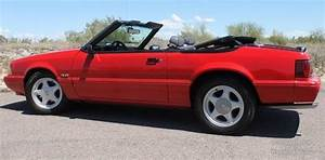 93 FORD MUSTANG LX CONVERTIBLE 5.0 V8 NO RUST CARFAX COLD A/C CLEAN AZ - Classic Ford Mustang ...